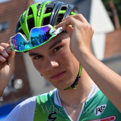 Clément DAVY PAris-Roubaix Espoirs 2018