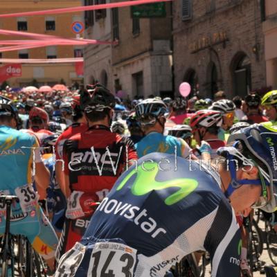 Giro 2012 Stage 7 start by Valérie Herbin (41)