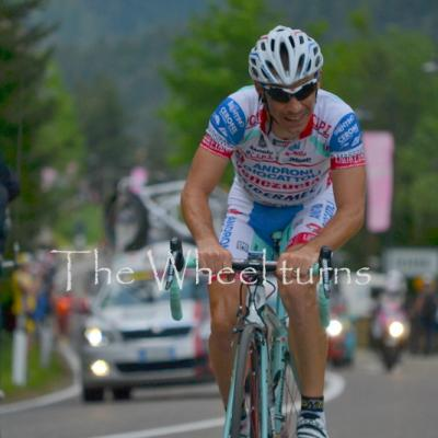 Stage 19 at 5 km from the finish Pampeago by Valérie (3)