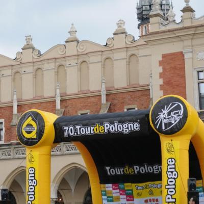 Tour de Pologne 2013 Start stage 3 Krakow (1)