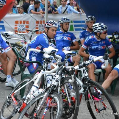 Tour de Pologne 2013 Start stage 3 Krakow (12)