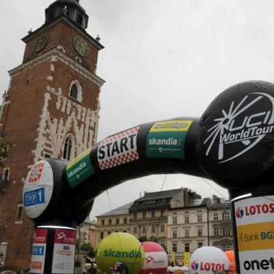 Tour de Pologne 2013 Start stage 3 Krakow (2)