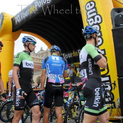 Tour de Pologne 2013 Start stage 3 Krakow (6)